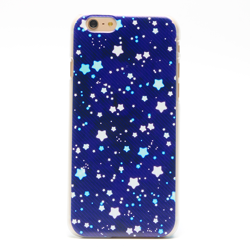 Stars Pattern Phone Case Back Cover For IPhone 5 5s SE 6 6s 6Plus 7 7Plus PC Hard Back Mobile Phone Case Cover(China (Mainland))