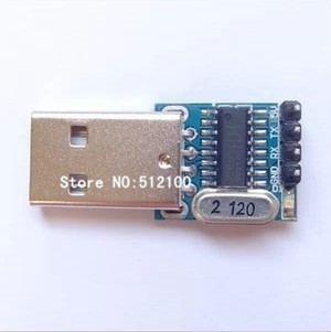 Free Shipping 50PCS CH340 USB to TTL module transfer lines upgrade flash STC downloader(China (Mainland))