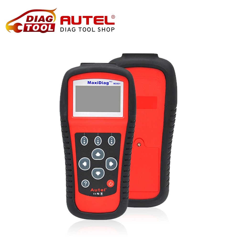 2016 DHL free Maxidiag MD801 code reader scanner for OBD1 OBDII protocol 4 in 1 scan tool MD 801 (JP701 + EU702 + US703 + FR704)(China (Mainland))