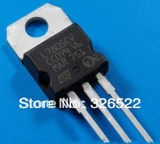 1L7805CV L7805 7805 Voltage Regulator 5V 1.5A TO-220 - GONG CHEN's store