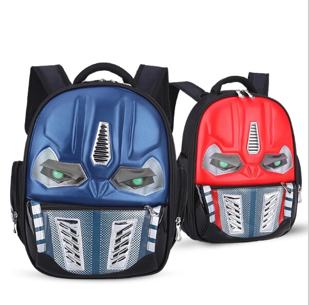 Transformers School Bag Children 4-8Years Kids Backpack Mochila Bag Waterproof Cartoon Boys Bag(China (Mainland))