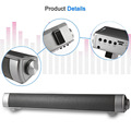 Slim Magnetic Wireless Soundbar HIFI Box Bluetooth Subwoofer Speaker Boombox Stereo Portable Hands free Speaker FOR