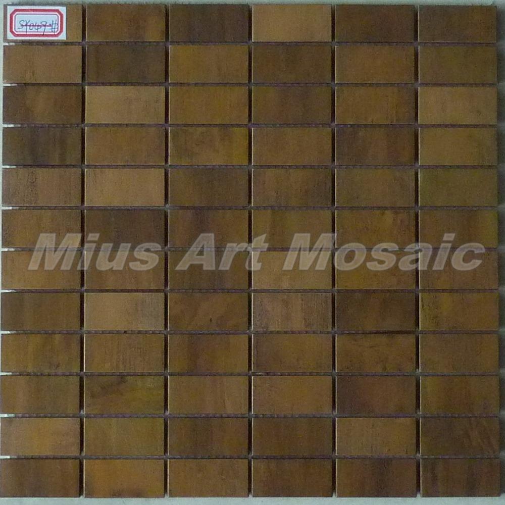 [Mius Art Mosaic] Brick pattern Copper tile in bronze brushed for kitchen backsplash wall tile SY049(China (Mainland))