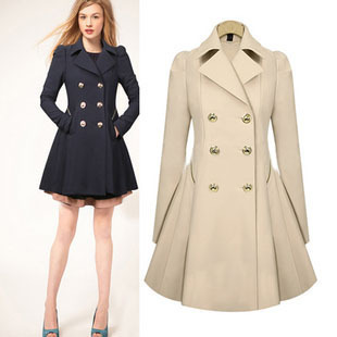Spring Trench Coats For Women
