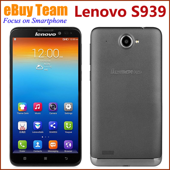 Мобильный телефон Lenovo S939 MTK6592 6/3g WCDMA 1 8 GB Android 4.2 1280 x 720 8MP GPS мобильный телефон huawei 3 x pro g750 2 8 5 5 ips mtk6592 13 0mp wcdma