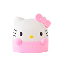 Hello Kitty cute roll paper holder issue box wholesale Exquisite cartoon stereo modelling ABS new roll of paper holder stand(China (Mainland))