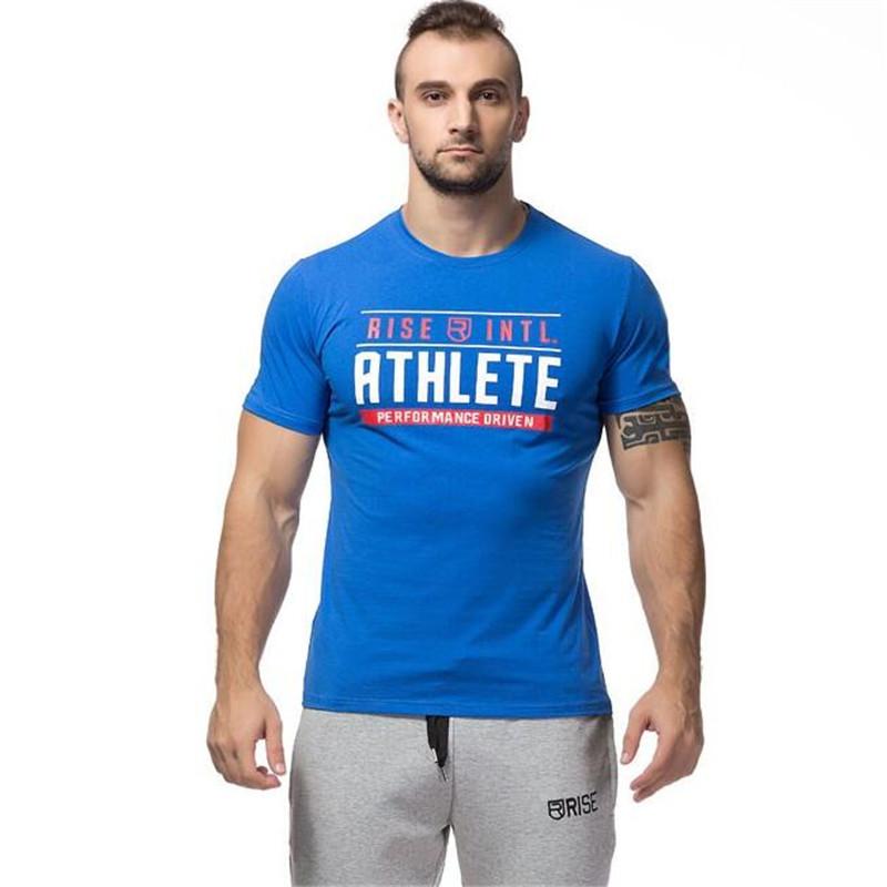 New poleras hombr moda Fitness camiseta masculina Gym WOLF Printing T Shirt Men's Casual Gym Bodybuilding Sport Short sleeved(China (Mainland))