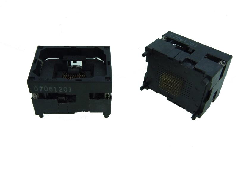 WELLS-CTI IC testing seat BGA64 Test Socket test bench block Aging seat 10mm*13mm 100% New Original Distributor On Sale 5%(China (Mainland))