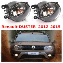 For RENAULT DUSTER 2011-2015  Front Fog Lamps Lights Car styling  1 set  8200074008  1209177(China (Mainland))