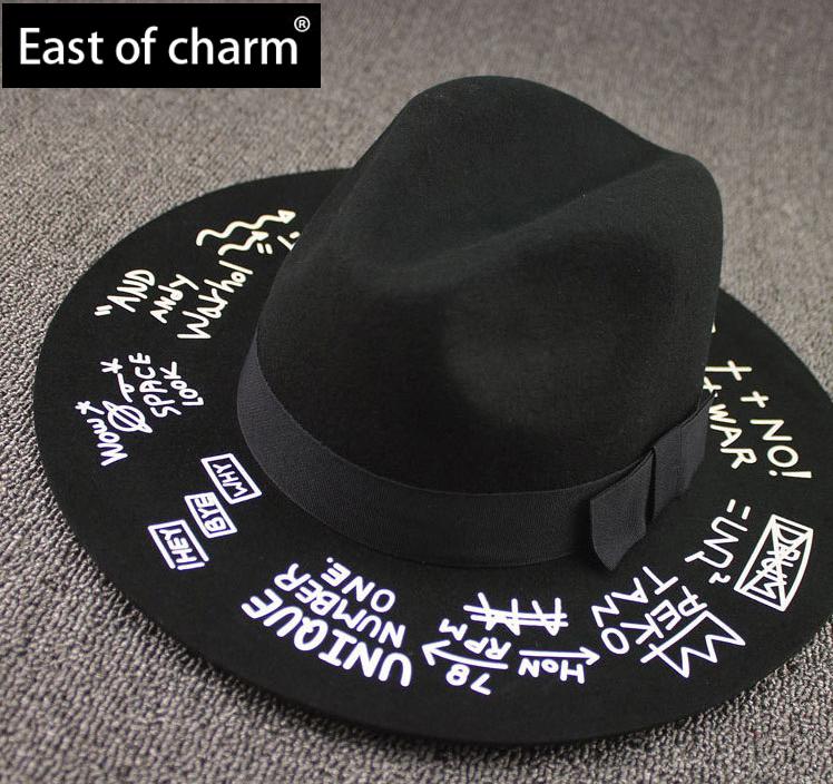 Женская фетровая шляпа East of charm Fedora Cloche chapeu feminino YM01 женская фетровая шляпа brand new 2015 fedora cloche hat cap 6 bm890