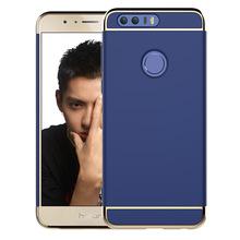 Полное Покрытие матовое телефон случаях для huawei Honor 8 случаях ПК 3 в 1 антидетонационных Защитный shell case Back case(China (Mainland))