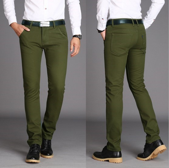 Images of Green Mens Pants - Kianes