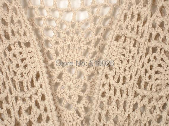 Crochet Vest Pattern With Fringe images