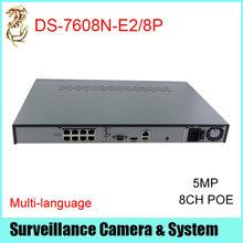 Hikvision NVR 8CH POE DS-7608NI-E2/8P 5MP NVR