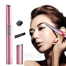 Hot New Design Electric Shaver Bikini Hair Legs Eyebrow Trimmer Shaper Remover Razor Set Beauty Free Shipping Cheap Z1(China (Mainland))