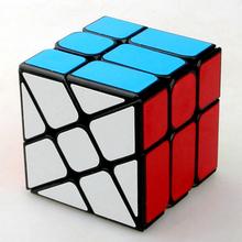 YongJun Moyu Pinwheel Wind Fire Wheels 3x3x3 Speed Fisher Magic Cube Puzzle Skewb Cubes Children Kids Educational Toys(China (Mainland))