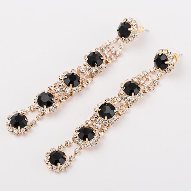 2016 мода королева горный хрусталь букле d'oreille oorbellen ланг pendientes mujer серьги для женщин с камнями серьги