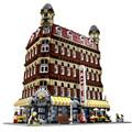 2476Pcs Lepin 15002 City Street Creator setsBuilding Kit Minifigure Blocks Bricks Compatible Children Toy Gift