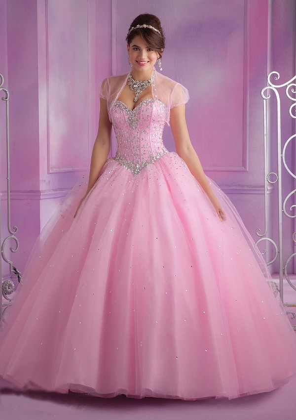 2015-Latest-Design-Ball-Gown-Quinceanera-Dresses-Pink-With-Jacket-Dress-15-Years-Sweetheart-Beaded-Bodice