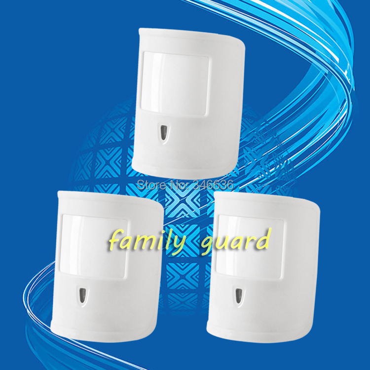 Free Shipping!3 Pcs/lot Wireless Pet-friendly Pet-Immune Animal Friendly Motion IR PIR Sensor Detector Just For Our Alarm System