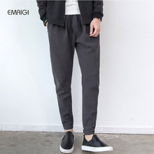 Buy New Men's Casual Pants Loose Street Fashion Hiphop Elastic Harem Pant Male Spring Autumn Trousers Jogger Sweatpants for $28.28 in AliExpress store