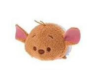 "Free Shipping!!! 1pcs/lot TSUM TSUM Plush Toys Piglet Eeyore Roo Mini Cute toy 3.5"" Phone Accessories Screen Wipe(China (Mainland))"