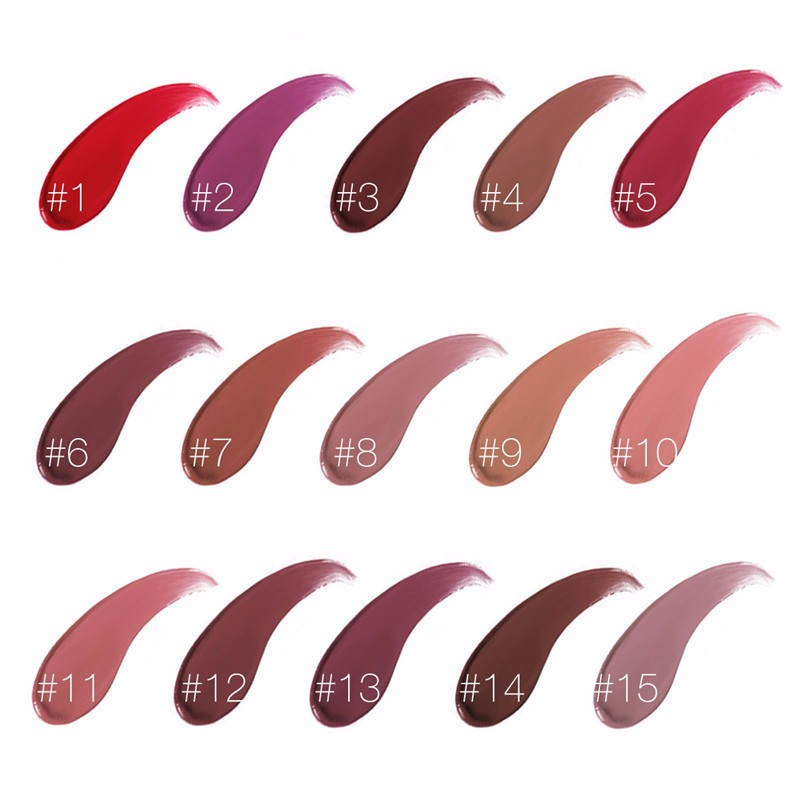 Matte Liquid Lipstick Waterproof Long Lasting Glitter Lip Gloss Makeup Metallic Color Nutritious Lipgloss