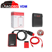 VDM UCANDAS V3.8 WIFI Full System Automotive Diagnostic Tool Update Online with for Honda Adapter by Fast Shipping(Hong Kong)
