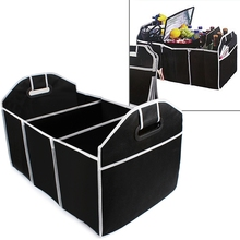Collapsible Car Trunk Organizer Truck Cargo Portable Tools Folding storage Bag Case Space Saving Auto Boot Organizer #HA10405(China (Mainland))