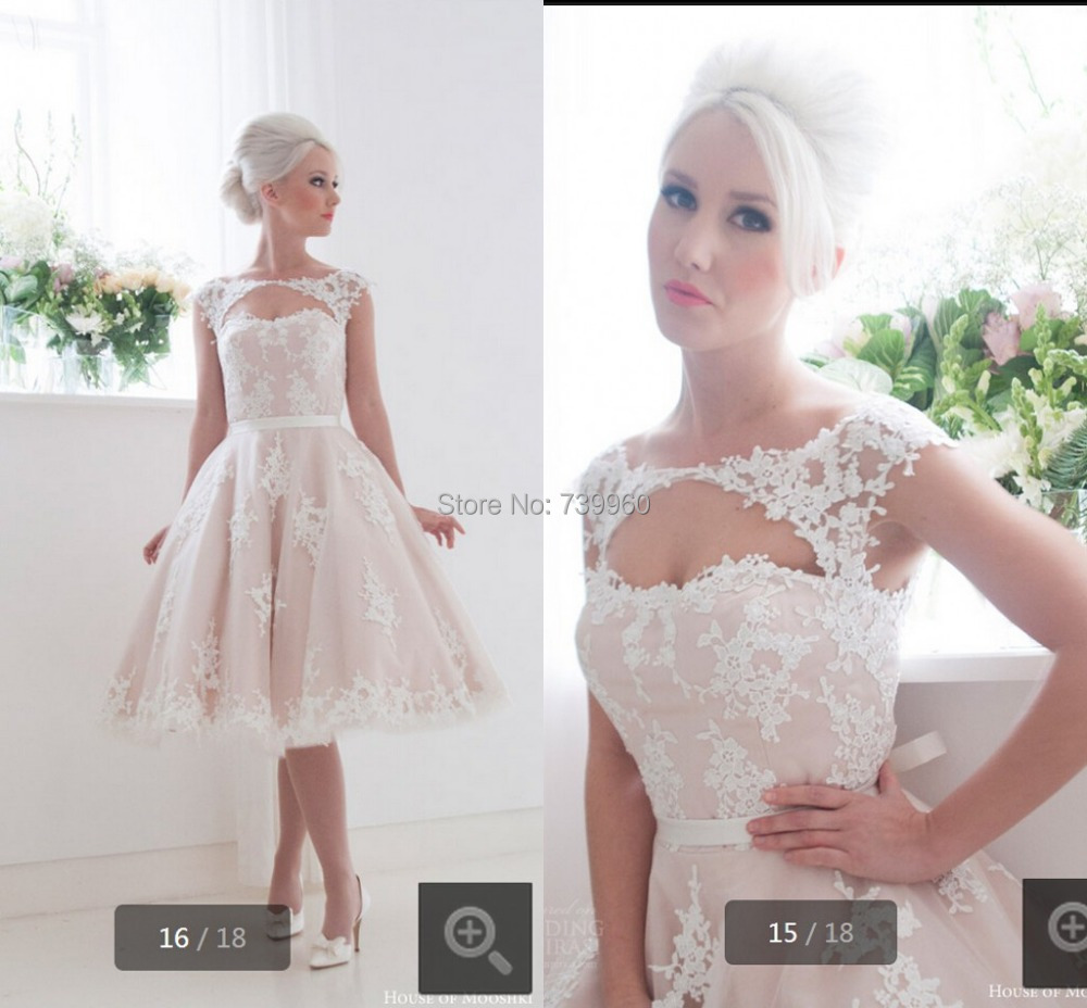 Cool wedding dresses for young: Modern wedding dresses for petite brides