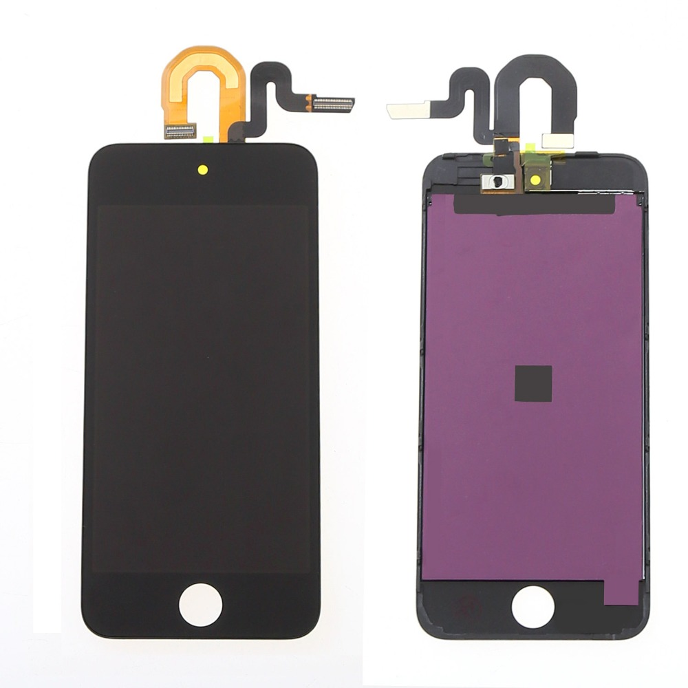 For Apple ipod Touch 5 5th LCD Display + Touch Screen with Digitizer Full Assembly, Free shipping + Track No.(China (Mainland))