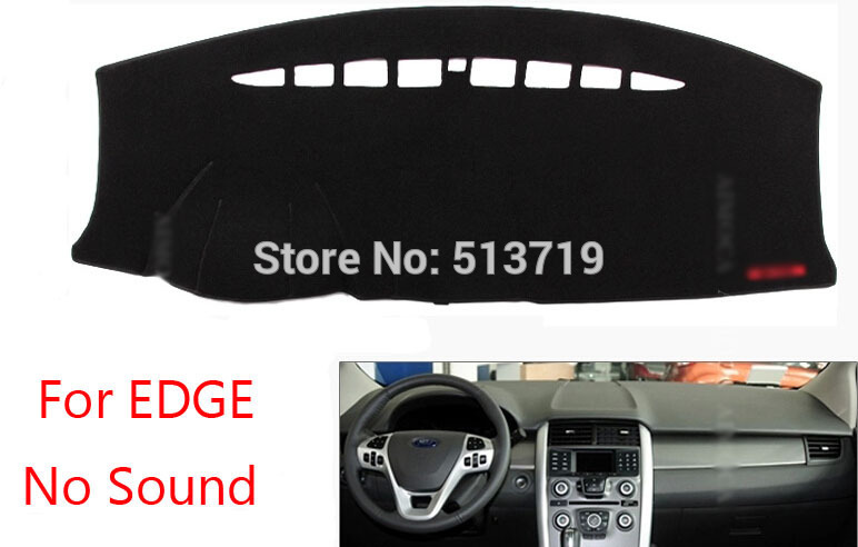 Car dashboard Avoid light pad Instrument platform desk cover Mats Carpets Auto accessories For Ford EDGE ALL(China (Mainland))