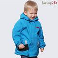Children autumn winter outerwear baby kids hooded jackets waterproof boys brand outdoor coat cotton padded plus