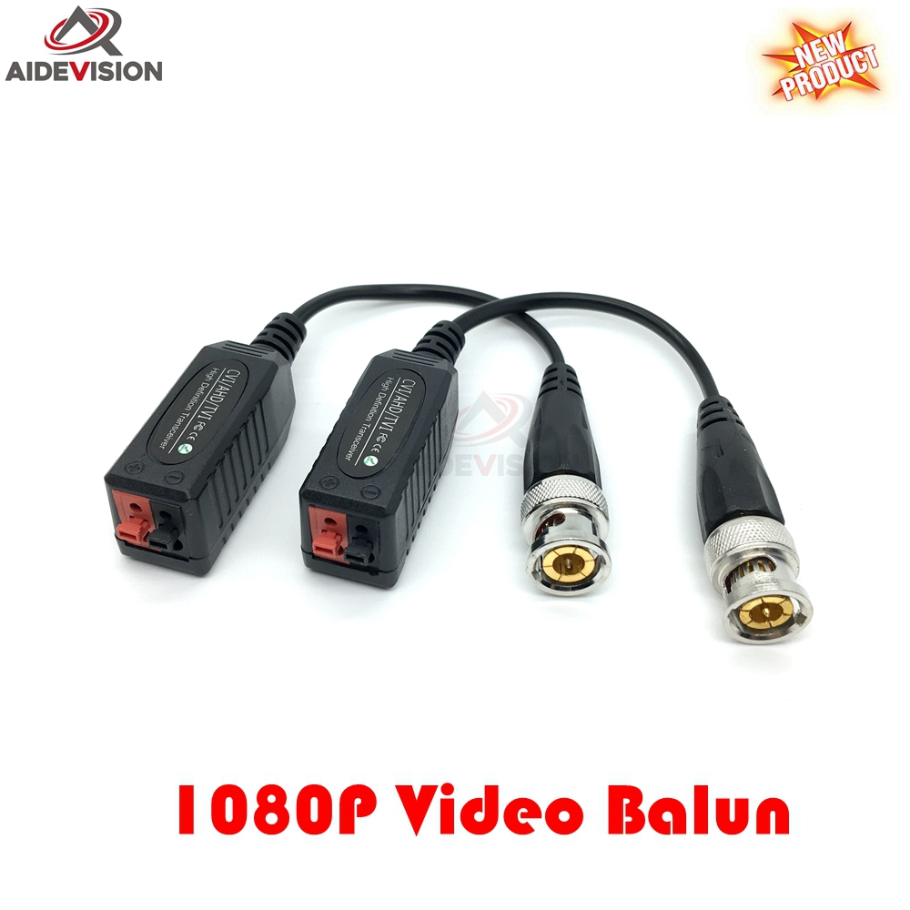 HD CVI/TVI/AHD Passive Transceiver CCTV Video Balun Adapter Transmitter BNC to UTP 720P 1080P video balun(China (Mainland))