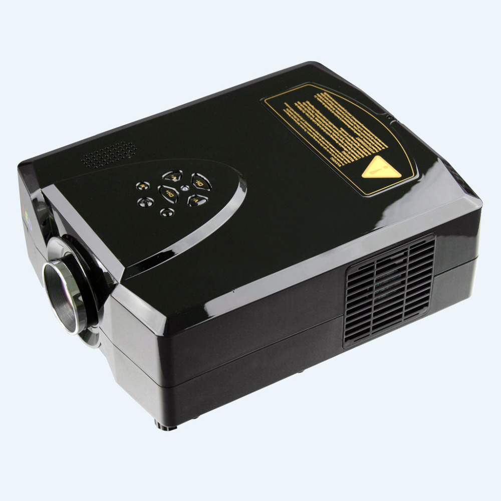 Buy excelvan projector 2200lumens hd home for Hd pico projector