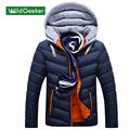 Wildgeeker Men s Parkas 2017 Winter Fashion Brand Men Hooded Fashion Clothes Men s Jackets And