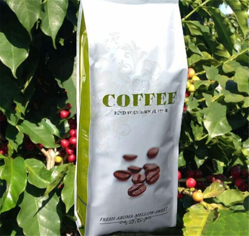 227g High quality Coffee Beans Baking charcoal roasted Original green food slimming coffee roasted coffee bean