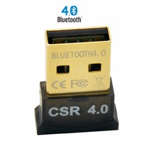 Mini USB Bluetooth Adapter CSR 4.0 Dual Mode Wireless Bluetooth 4.0 Dongle transfer for PC Laptop Windows 7/ 8/ 10(China (Mainland))