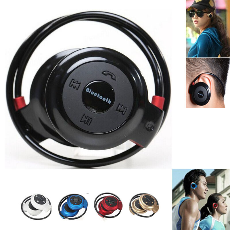 Mini 503 Bluetooth font b headphones b font CSR Chip BT 4 0 Neckband wireless MINI
