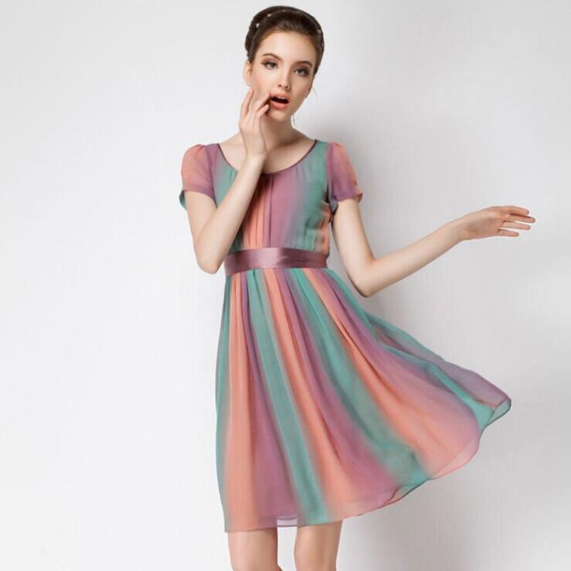 Silk Short Dresses - RP Dress