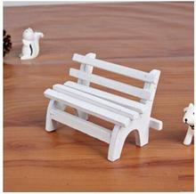 Free shipping 11cm Wooden ornaments, chairs shooting background, wooden props, mini furniture Baby toys