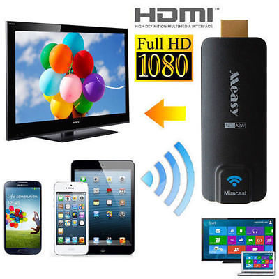 Measy Miracast AirPlay Dongle A2W EZCast for Smartphone Projection on TV CN120-SZ(China (Mainland))