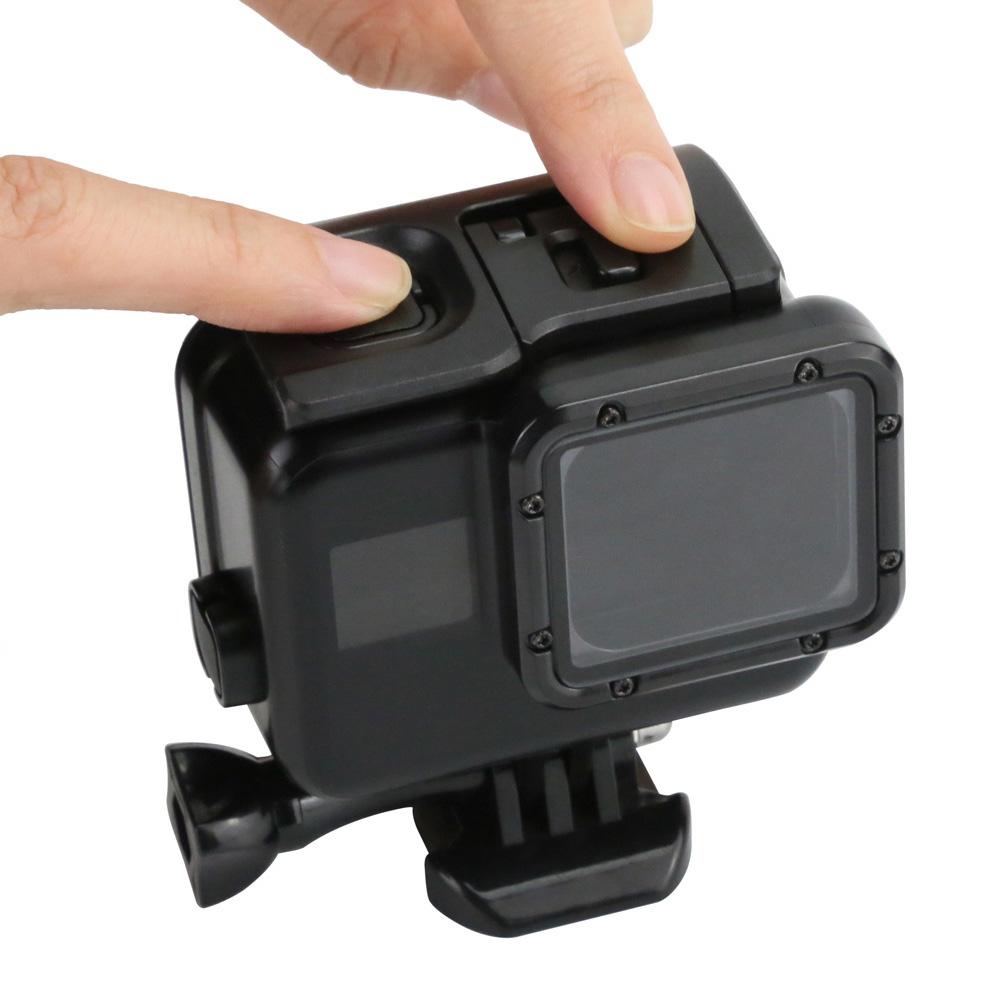 Водонепроницаемый Защитный Чехол черный Carry Обложка Пластик для Gopro Hero5 6 7 aeProduct.getSubject()
