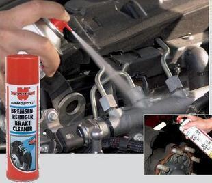 Wuerth wurth industrial cleaner brake disc cleaning agent cleanser