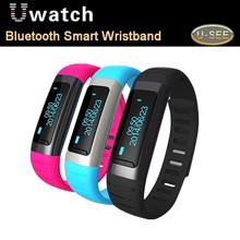 2015 новейший ushiphop часы U9 смарт-bluetooth часы SmartWatch наручные с шагомер wi-fi горячие точки для iPhone Samsung HTC Android телефон