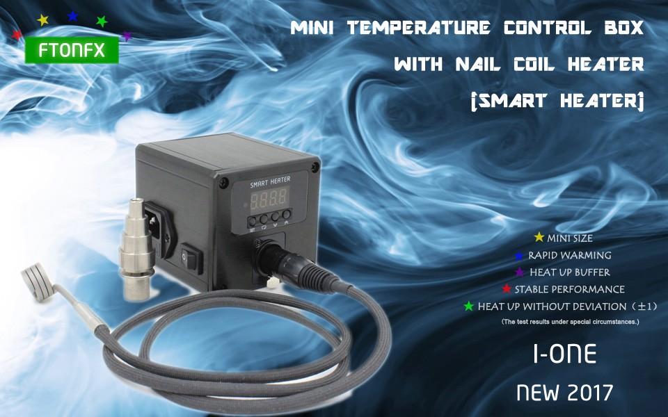 ถูก (NEW2017, I-ONE,พลังงาน: AC220V l)มินิกล่องควบคุมอุณหภูมิเล็บเครื่องทำขดลวด,บุหรี่อิเล็กทรอนิกส์,ผู้ผลิตโดยตรง!