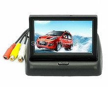 "4,3 ""Rearview-system Reverse TFT LCD Monitor Für Parkplatz mit 2-kanal Video Input CCTV Monitor(China (Mainland))"