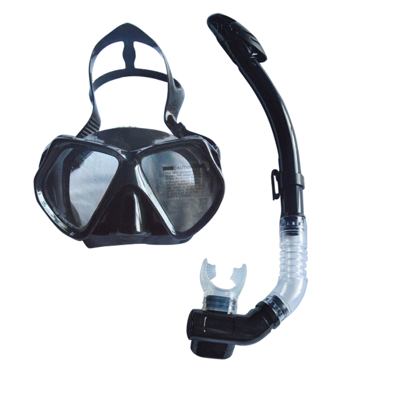 scuba mask and snorkel set full dry of diving equipment MS-27930(China (Mainland))
