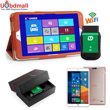 2017 Newest V8.1 XTUNER E3 EasyDiag WIFI OBD-II Automotive Scanner + 8'' WIN10 OS Tablet Car Diagnostic Tool Replacement Vpecker(China (Mainland))
