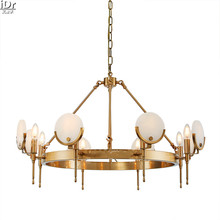 Neo-classical post-modern luxury-meter high lamp living room restaurant lights Flora gold  Chandeliers Lmy-0223(China (Mainland))